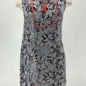 Boden Dress Women Size 8 Sleeveless Floral Coral B